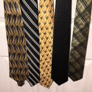 Lot of 5 neckties
